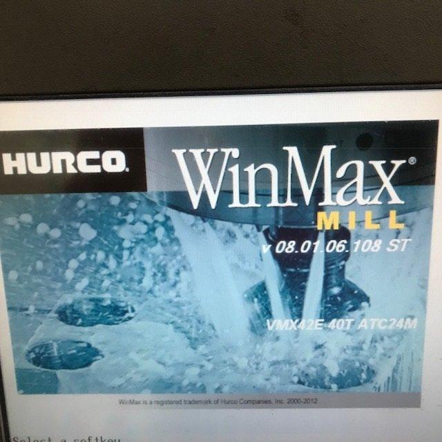1 – USED HURCO VMX42 VMC