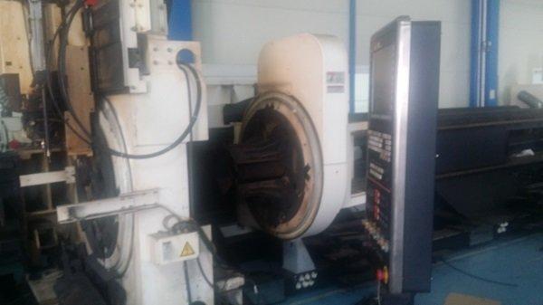 1 – USED MAZAK 3DFABRI GEAR 400 III HEAVY LONG TUBE AND PROFILE CUTTING LASER