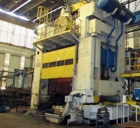 1 – USED 3,000 TON DANLY TRANSFER PRESS C-5479