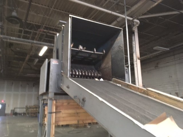 "1 – USED 72"" BLOAPCO SHREDDER FOR WOOD OR CARDBOARD OR PAPER C-5478"