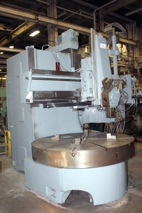 "​1 – USED 72"" WEBSTER & BENNETT MODEL ""EM"" VERTICAL BORING MILL C-5496"