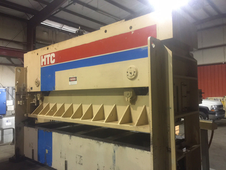 1 – USED 150 TON PACIFIC HTC HYDRAULIC PRESS BRAKE