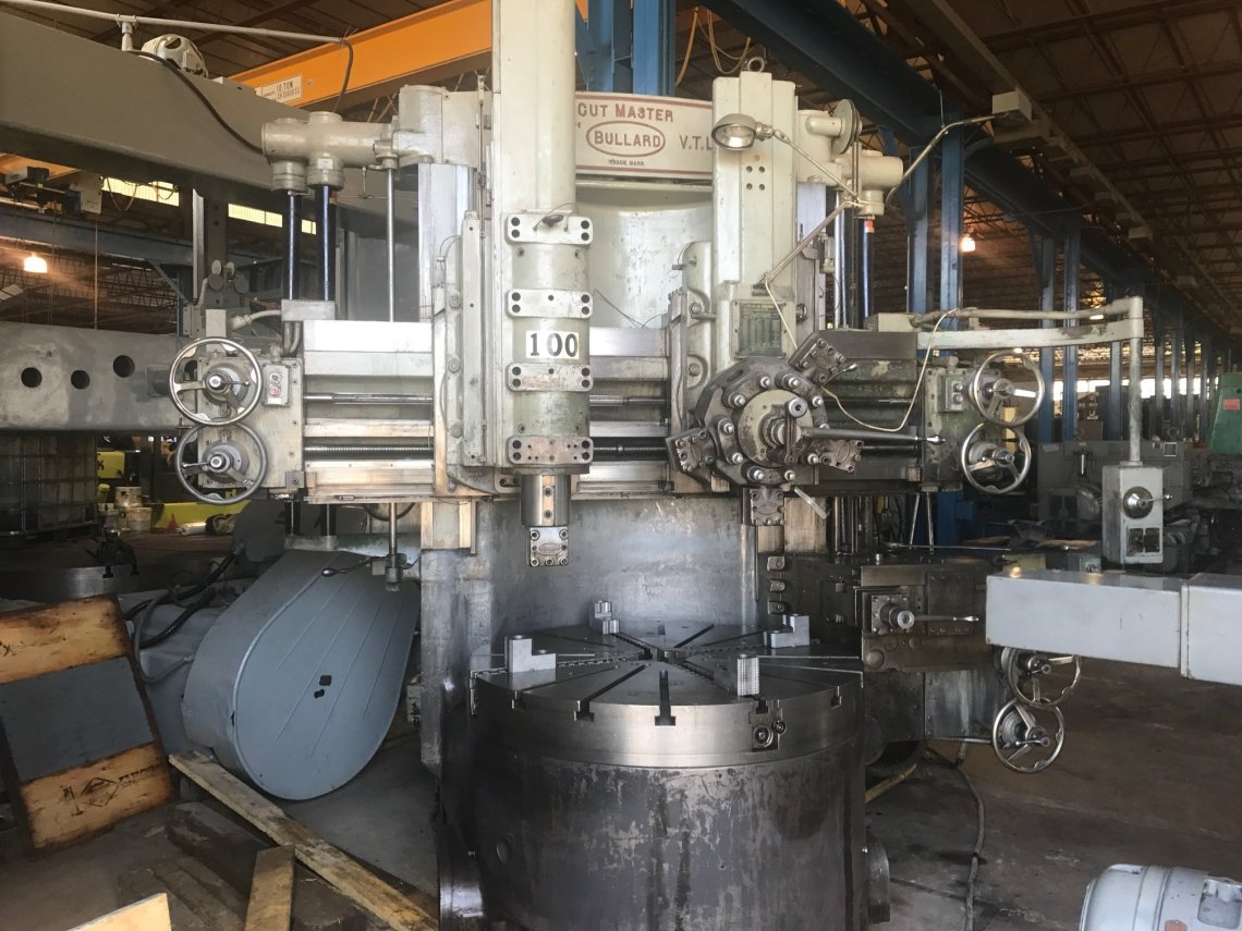 "​1 – USED 54"" BULLARD VERTICAL BORING MILL"