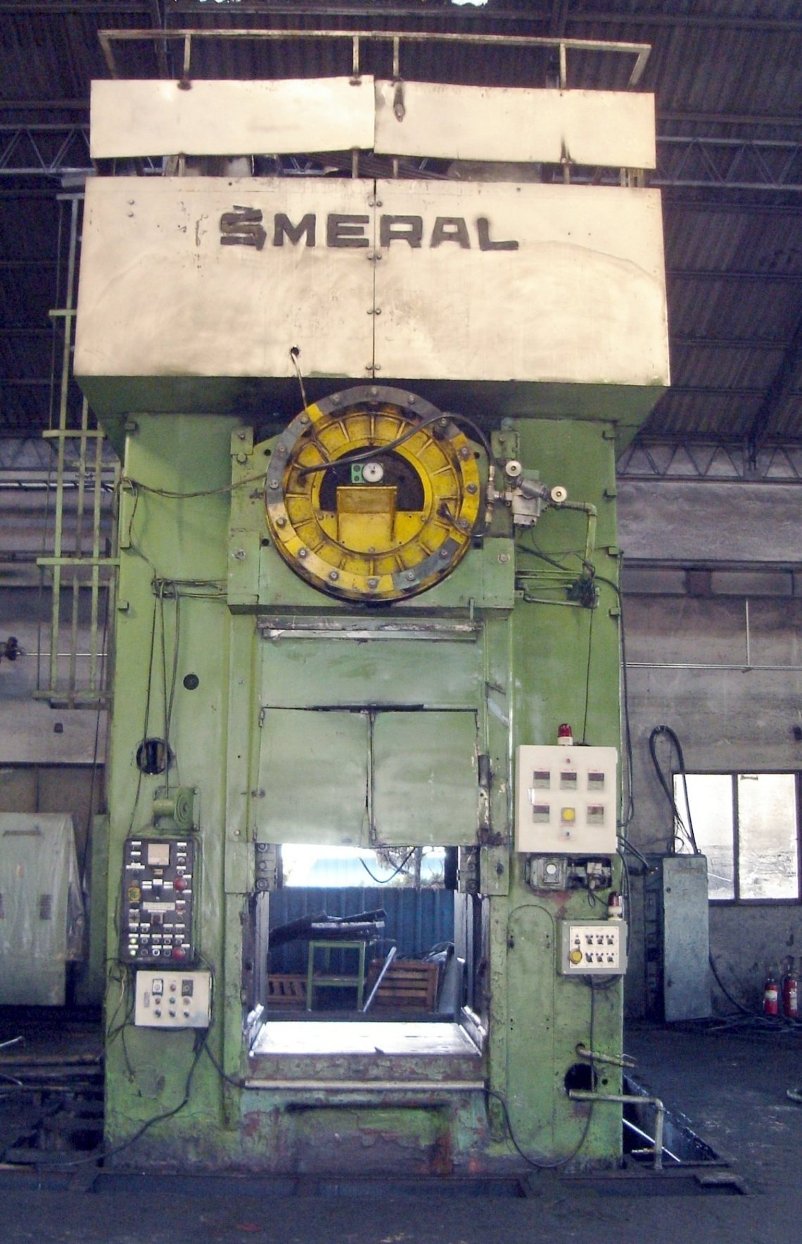1 – USED 2,500 TON SMERAL MECHANICAL HOT FORGING PRESS C-3872