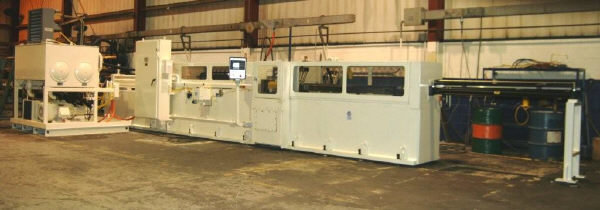 "​1 – USED 40 TON X 90"" AMERICAN CNC HYDRAULIC HORIZONTAL BROACH"