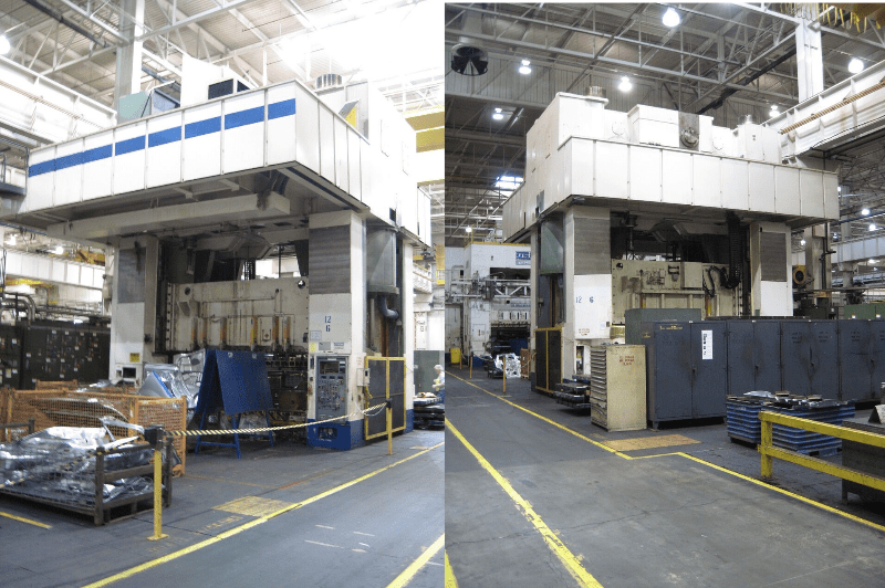 1 – USED 2,000 TON MULLER WEINGARTEN SSDC PRESS C-5197
