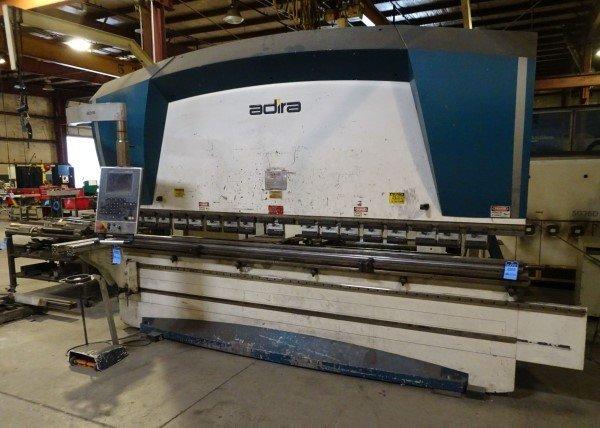 "1 – USED 13' 1"" ADIRA 175-TON CNC HYDRAULIC PRESS BRAKE C-5580"
