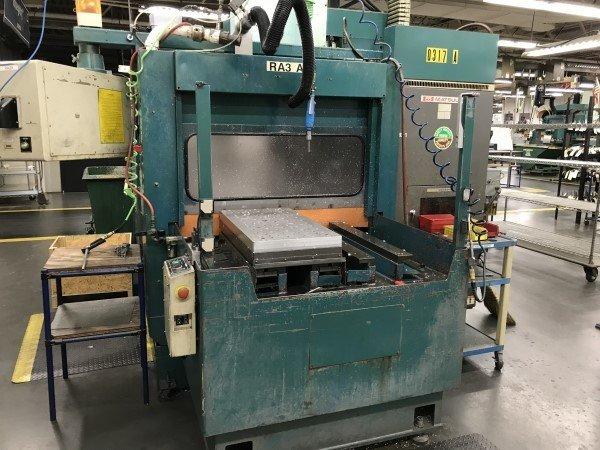 3 – USED RA-IVF MATSUURA DUAL-PALLET CNC VERTICAL MACHINING CENTER