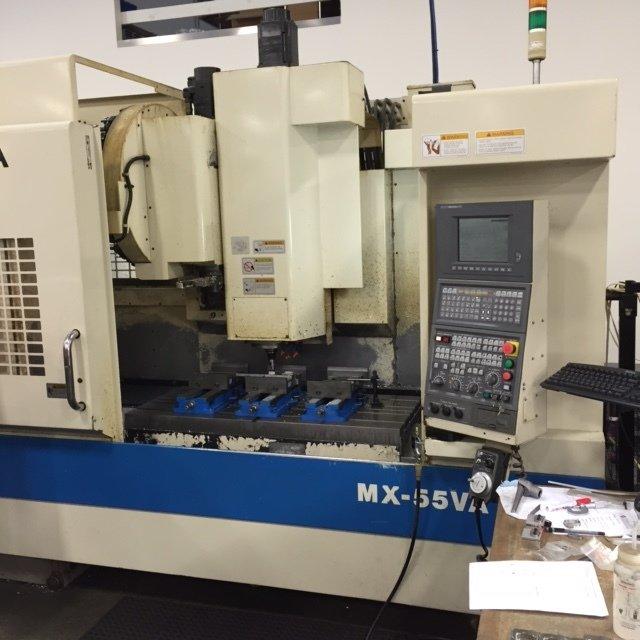 1 – USED OKUMA MX55-VA VERTICAL MACHINING CENTER