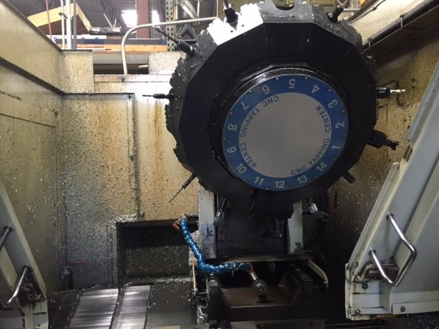 1 – USED BROTHER TC-324N VERTICAL MACHINING CENTER