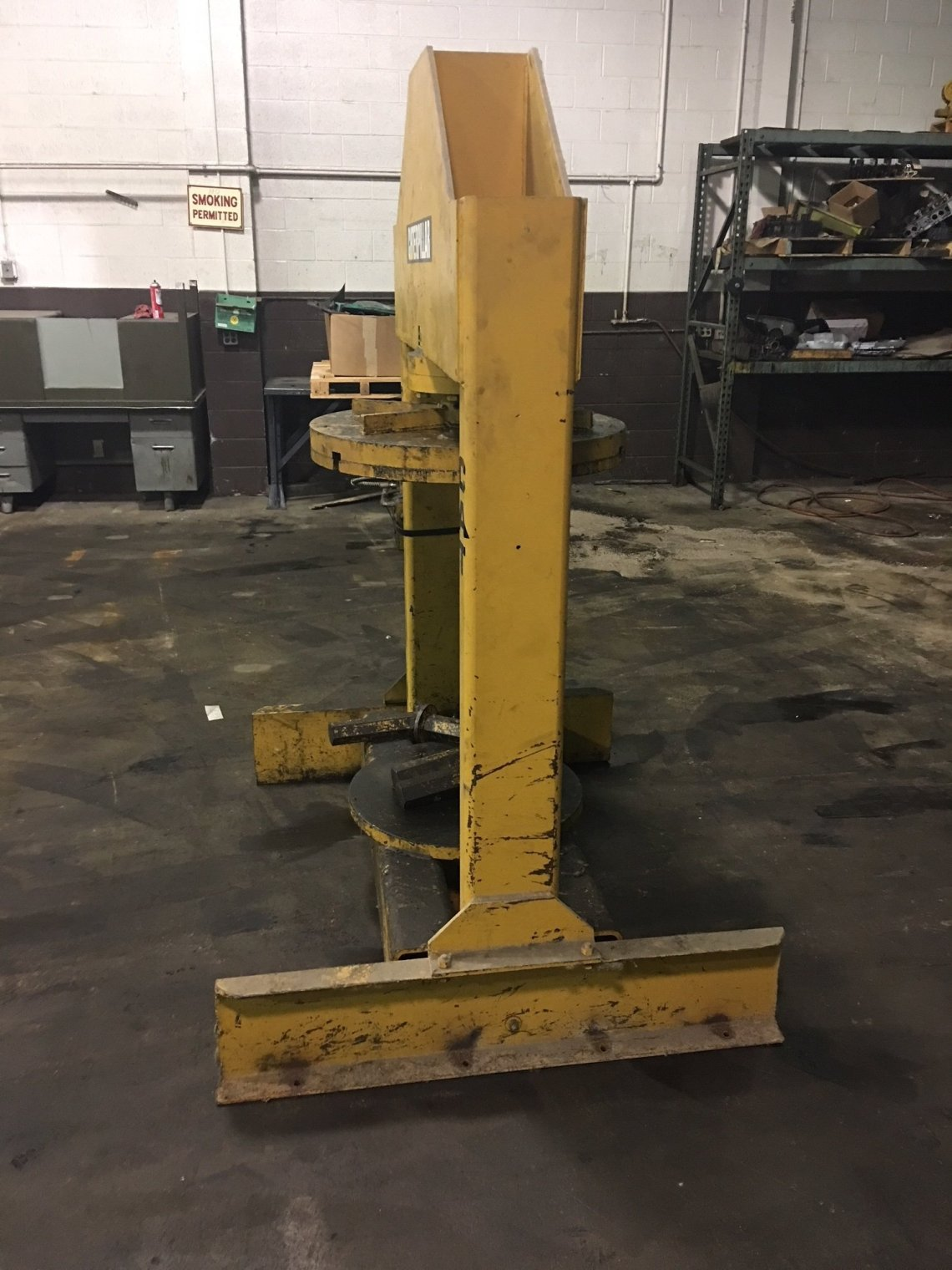 1 – USED 150 TON CLARK UP ACTING HYDRAULIC H-FRAME PRESS