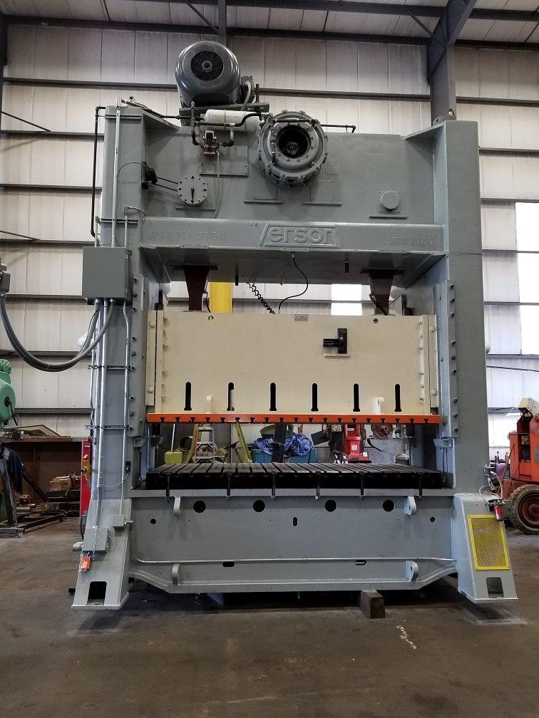 1 – REBUILT 300 TON VERSON SSDC POWER PRESS C-5631