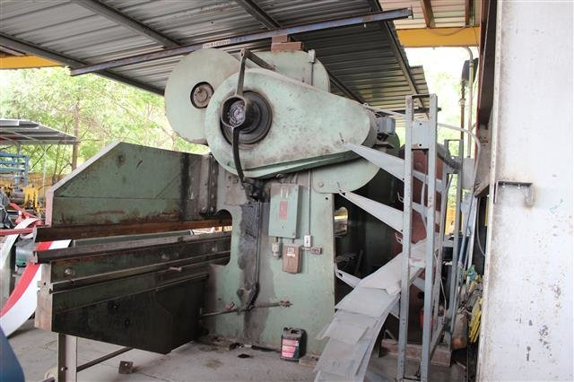 ​1 – USED 300 TON X 28' CHICAGO DRIES AND KRUMP PRESS BRAKE