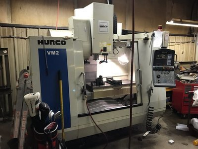 ​1 – USED HURCO VM2 MULTI-PROGRAMMABLE VERTICAL MACHINING CENTER