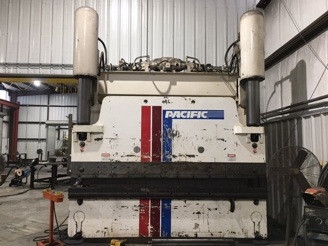 ​1 – USED 300 TON X 12' PACIFIC HYDRAULIC PRESS BRAKE