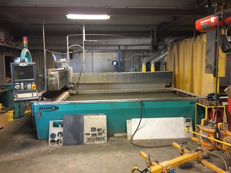 ​1 – USED 5' X 10' TECHNI WATERJET C-5667