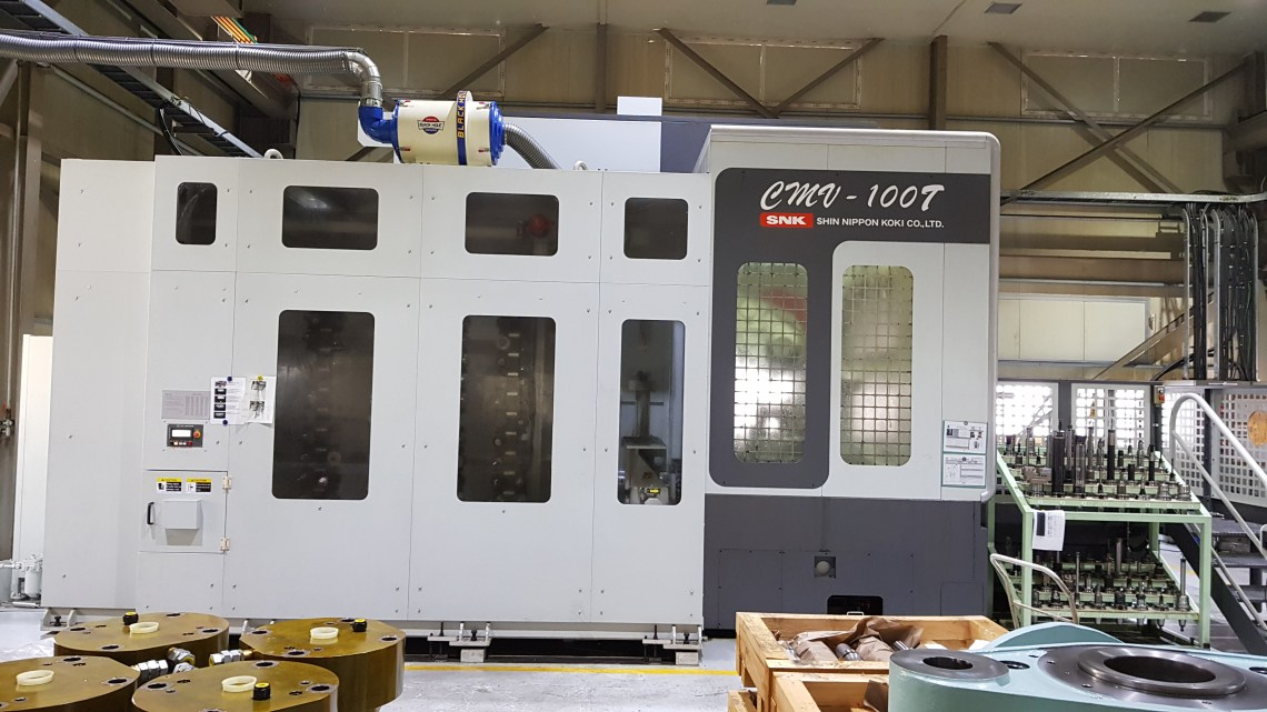 1 – USED SNK 5-AXIS CNC HORIZONTAL MACHINING CENTER