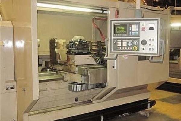 """(2) – USED TACCHI FTF-1600 `HEAVY DUTY' 14"""" BAR CAPACITY CNC TURNING CENTERS"""