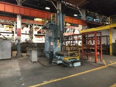"""1 - USED 48"""" ROCKFORD VERTICAL HYDRAULIC SLOTTER"""