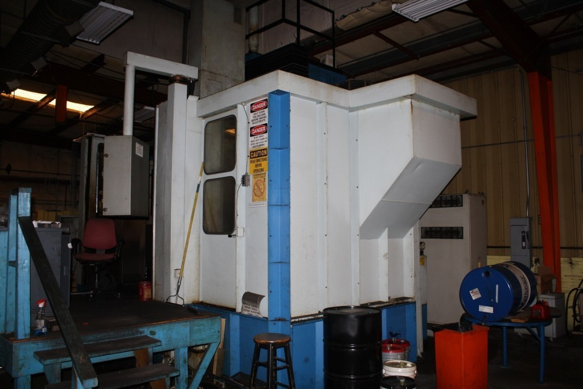 """1 – USED 63""""/78"""" TOS HULIN 3-AXIS CNC VBM WITH LIVE TOOLS"""