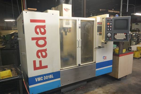 """1 – USED FADAL VMC C3016L WITH EXTENDED """"Z"""" C-5706"""