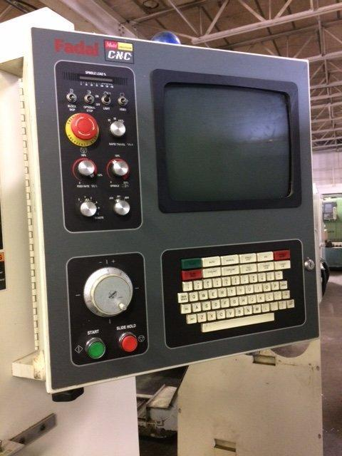 """1 – USED FADAL VMC C3016L WITH EXTENDED """"Z"""""""