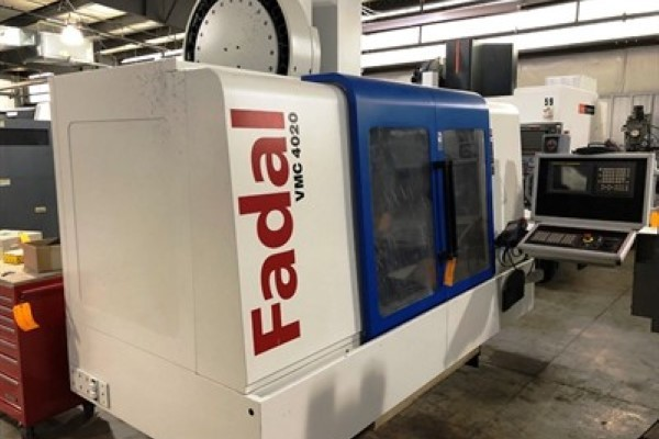 1 – USED 4020HT FADAL VERTICAL MACHINING CENTER C-5710