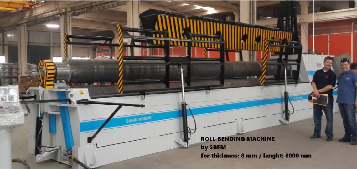 1 – NEW 3RH SBS 3090 HYDRAULIC BENDING ROLL C-5713