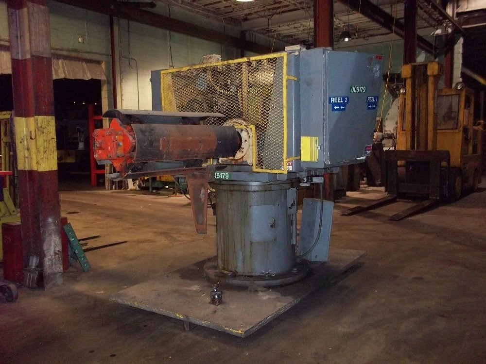 1 - USED 7500 LB. ROWE DOUBLE END STOCK REEL