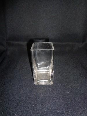 Square Glass Vase 4
