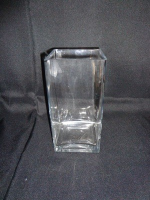 Square Glass Vase 8