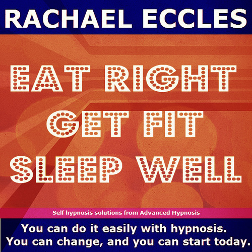 Eat Right, Get Fit, Sleep Well 2 track Self Hypnosis Hypnotherapy MP3 download 00248