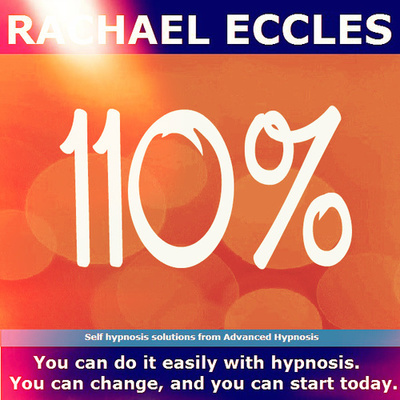 110% Develop your work ethic & reap the rewards Motivation,  Self Hypnosis Hypnotherapy Meditation CD