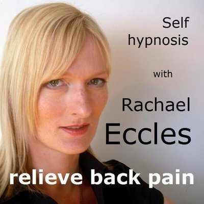 Relieve Back Pain, Hypnotherapy 2 track Self Hypnosis CD