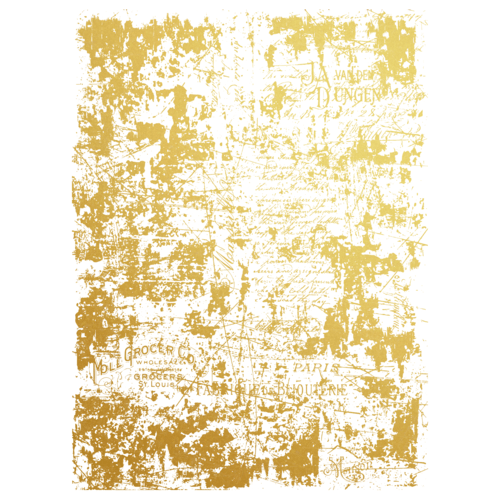 Prima Decor Transfer: Gilded Distressed Wall Gilded Distressed Wall