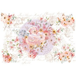 Prima Decor Transfer: Rose Celebration Rose Celebration