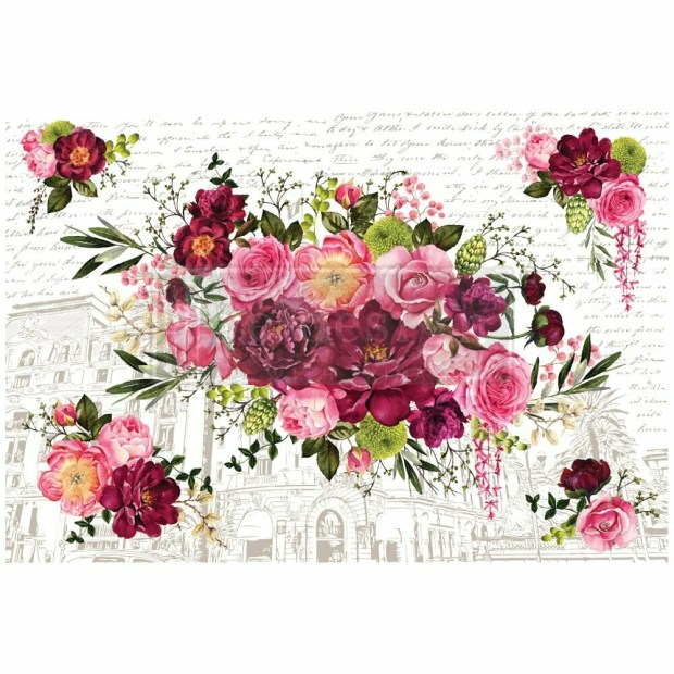 Prima Decor Transfer: Royal Burgundy (NEW!)
