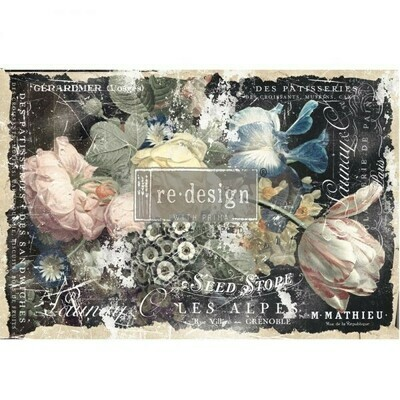 Decoupage Decor Tissue Paper: Bridgette