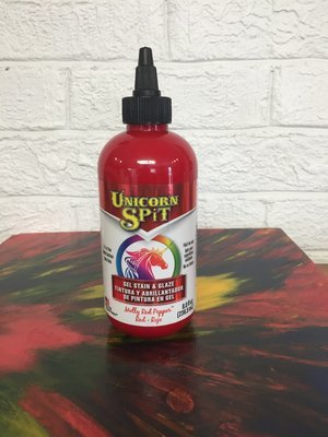 8 oz Unicorn Spit: Molly Red Pepper (red)