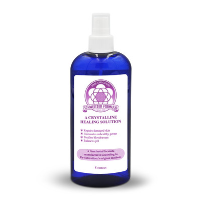 Schweitzer Formula Cobalt Blue Bottle - 8oz