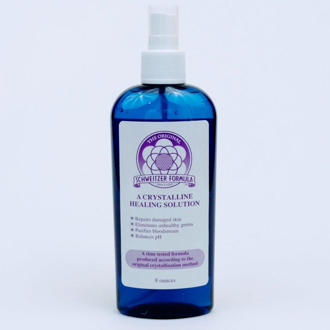 Schweitzer Formula Cobalt Blue Bottle - 8oz SF8