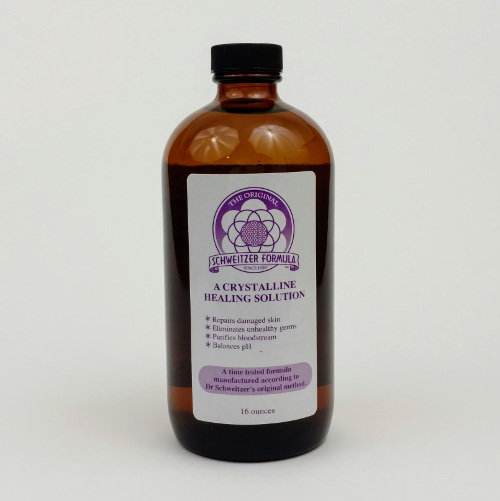 Schweitzer Formula Concentrate Amber Glass Bottle - 8oz SF8CG