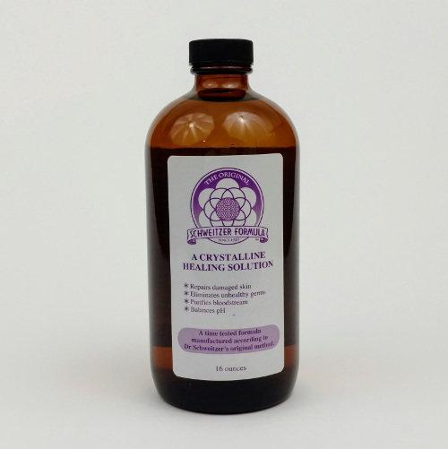 Schweitzer Formula Concentrate Amber Glass Bottle - 16oz SF16CG