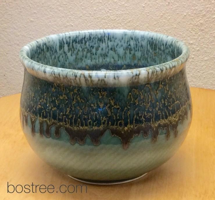handmade porcelain celadon bowl by Andrew Boswell
