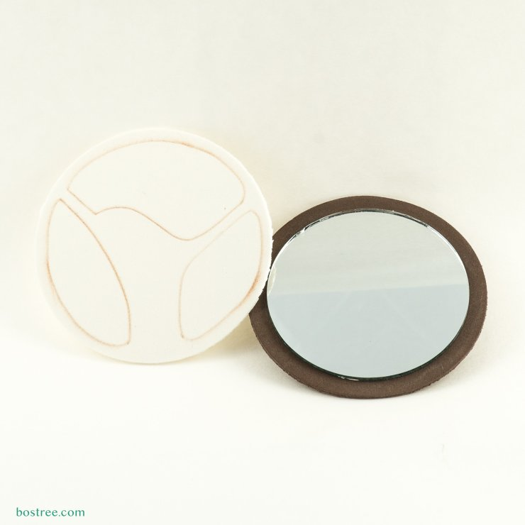 Customizable disc and mirror.