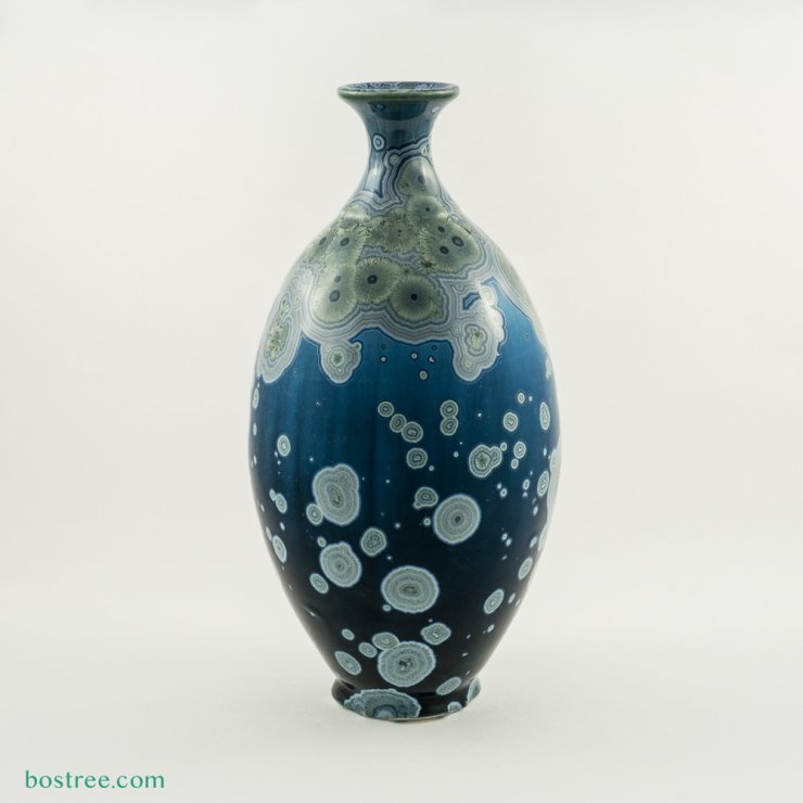Crystalline Glaze Vase by Andy Boswell #ABV0117 ABV0117