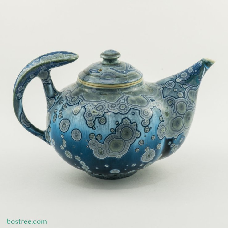 Crystalline Glaze Tea Pot by Andy Boswell #ABT0009 ABT0009