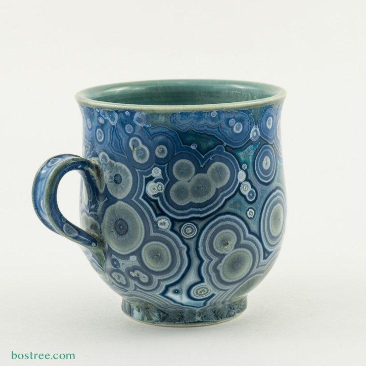 Crystalline Glaze Mug by Andy Boswell #ABCS003