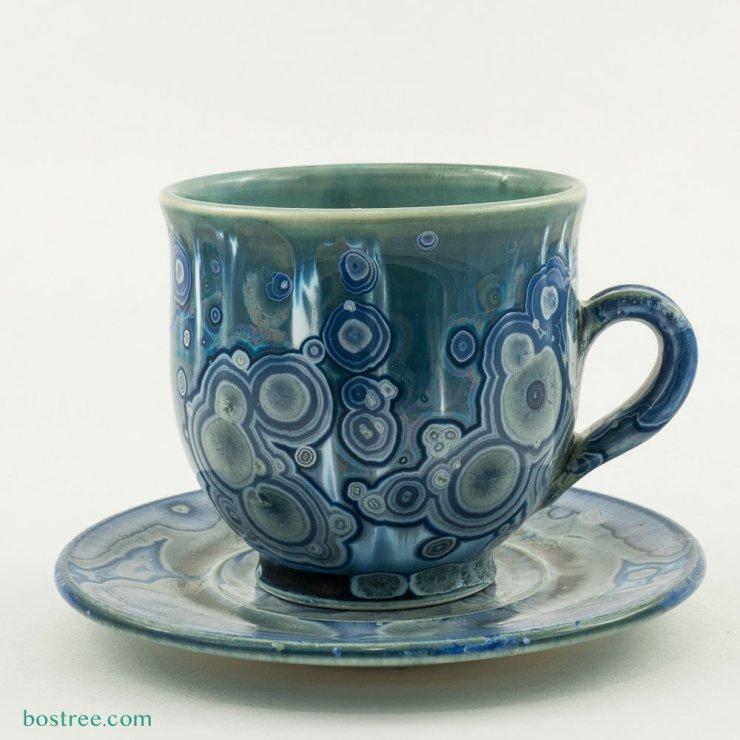 Crystalline Glaze Mug by Andy Boswell #ABCS006