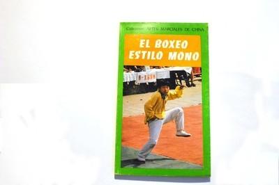 Libro boxeo estilo  mono.